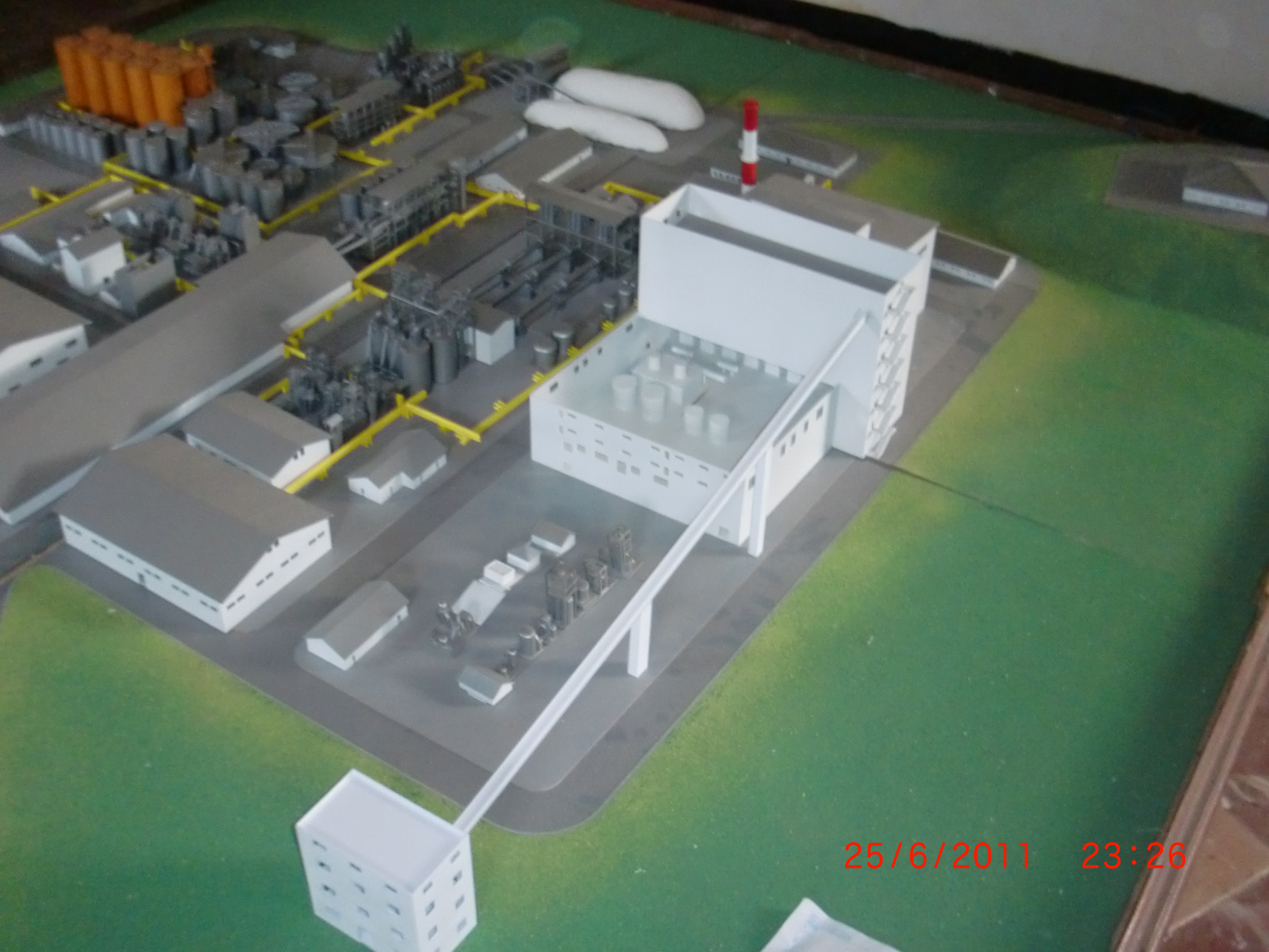 Maket Site Plan Pabrik wika